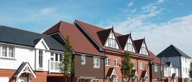 A Berkley Homes site in Bognor Regis, Fildes Roofing completed the roofs for 300 units.