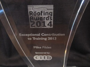NFRC Roofing Awards 2014